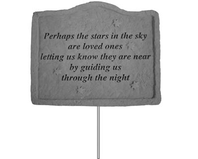 02103 Garden Stake-Perhaps the stars...-0