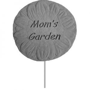 02202 Garden Stake-Mom's Garden-0