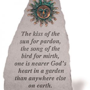 05590 The kiss of the sun..w/metal sun (verde)-0