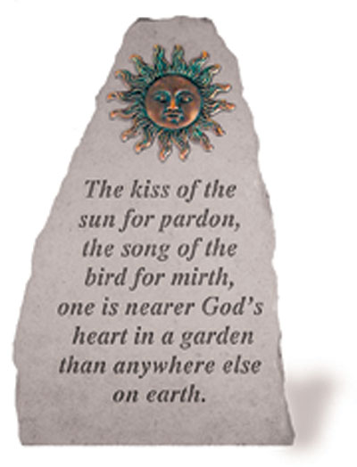 05590 The kiss of the sun..w/metal sun (verde)-0
