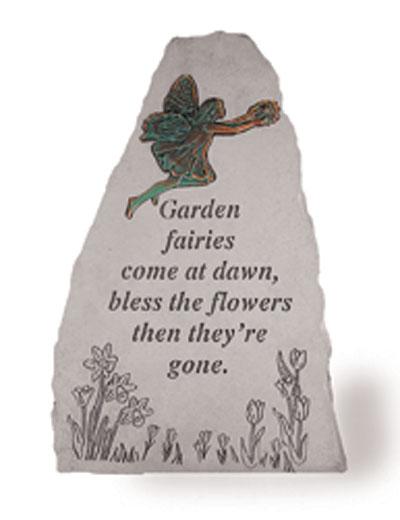 05690 Garden fairies come at...w/metal fairy(verde)-0
