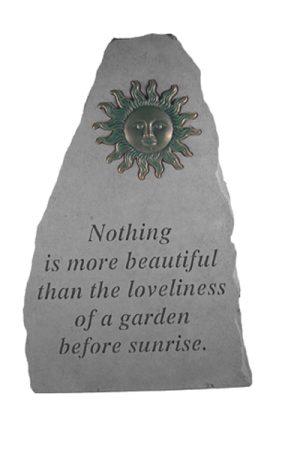 06090 Nothing is more...w/metal sun (verde)-0