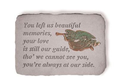 06590 You left us...w/metal trumpet angel(verde)-0
