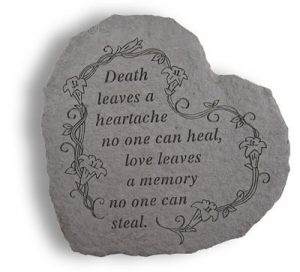 08420 HEART-Death leaves a heartache...-0