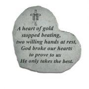 08504 SM HEART A heart of gold...-0