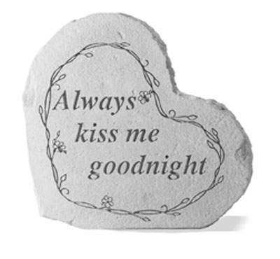 08507 SM HEART Always kiss me goodnight...-0