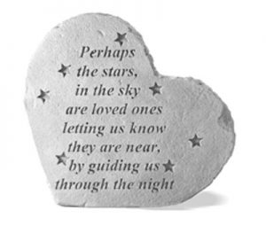 08508 SM HEART Perhaps the stars in the sky...-0