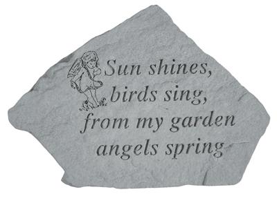 09506 Sun shines, birds sing,...(w/cherub)-0