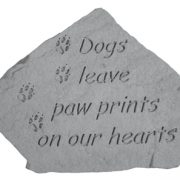 09507 Dogs leave paw...(with paw prints)-0