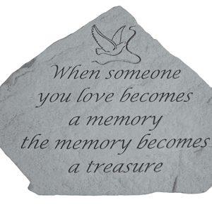 09509 When someone you love...(w/dove & ribbon)-0