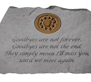 11467 Goodbyes are not...w/symbol-0