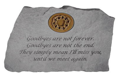 11467 Goodbyes are not...w/symbol-4456