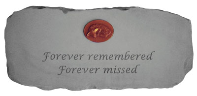 12671 Bench Forever remembered,Forever missed...w/symbol-4458