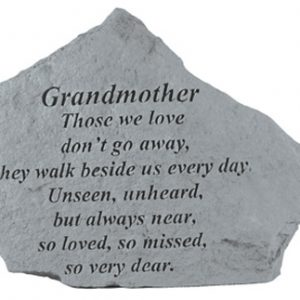 15220 GRANDMOTHER Those we love don't go away...-0