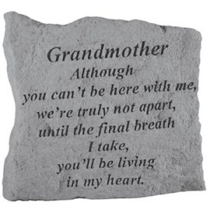 15920 GRANDMOTHER Although you can't be here...-0