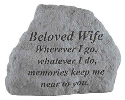 16820 BELOVED WIFE Where ever I go...-0