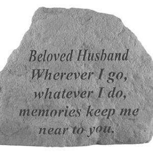 16920 BELOVED HUSBAND Where ever I go...-0