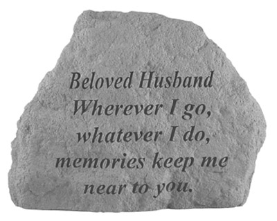 16920 BELOVED HUSBAND Where ever I go...-0