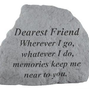 17020 DEAREST FRIEND Where ever I go...-0