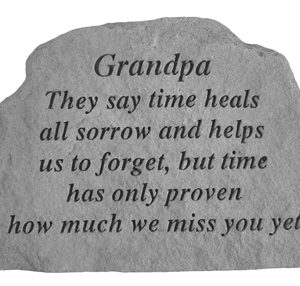 17420 Grandpa They say time heals...-0