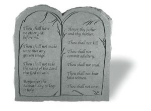 20311 The Ten Commandments (Tablet)-0