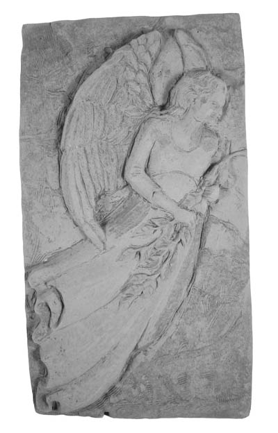22220 Standing Angel Plaque-0