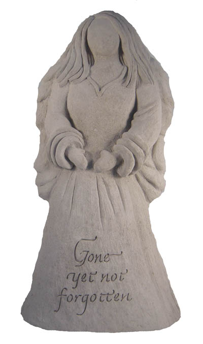 24202 Angel Statue - Gone yet not...-4516