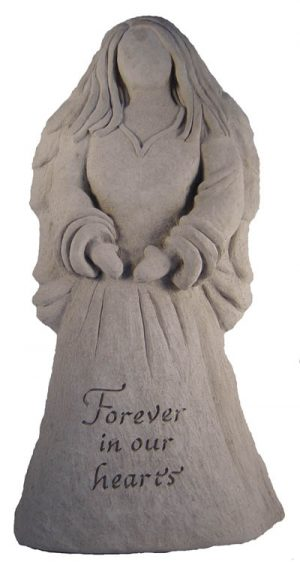 24203 Angel Statue - Forever in our hearts-0