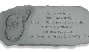 37220 Angel Bench w/ Those we love...-0