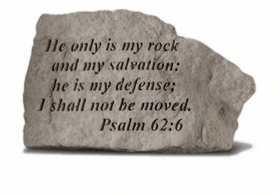 40520 He only is my rock and my salvation...-0