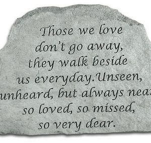 46720 Those we love don't go away...-0
