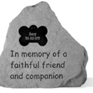 50620 In memory of...w dog bone-0