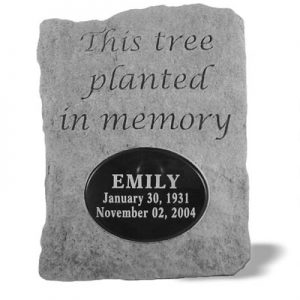 52120 This tree planted...w/ marble insert-0