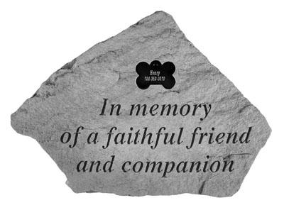 52520 In memory of...w dog bone-4451