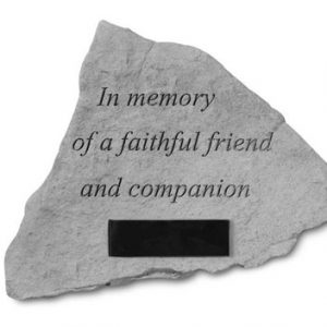 52920 In memory of a faithful...Personalized-0