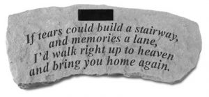 54420 If tears could...Personalized Bench-0