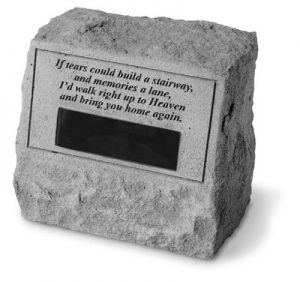 56220 Headstone-If tears could build...-0