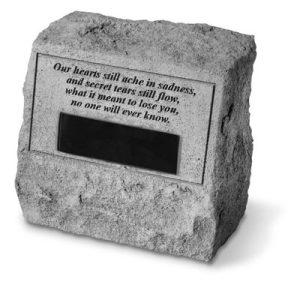 56320 Headstone-Our hearts still ache...-0