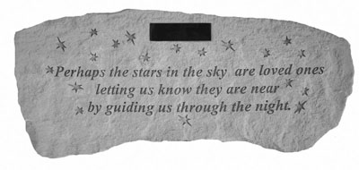 56520 Perhaps the stars in the sky...Personalized Bench-0