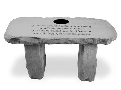 56920 If tears could build...Personalized Bench-0
