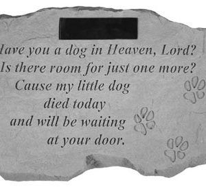 57320 Have you a dog in heaven...Personalized-0