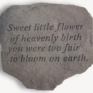 60720 Sweet little flower of heavenly birth...-0