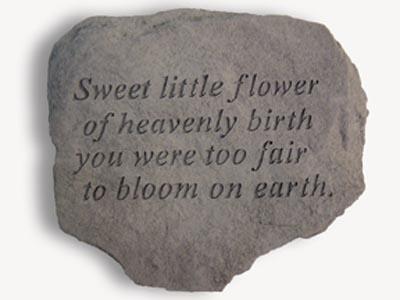 60720 Sweet little flower of heavenly birth...-0