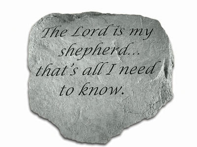61620 The Lord is my shepherd...-0