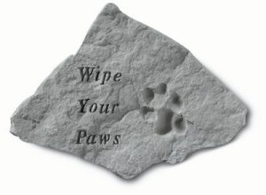 69020 Wipe Your paws w/ pawprint-0