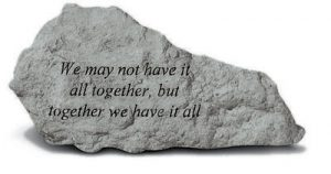 """73820 """"We May Not Have It All Together,...""""-0"""