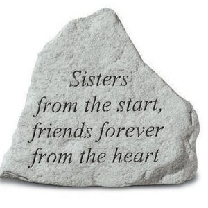 "74220 ""Sisters From The Start, Friends...""-0"