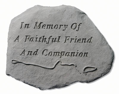93720 In Memory Of A Faithful w/leash & collar-0