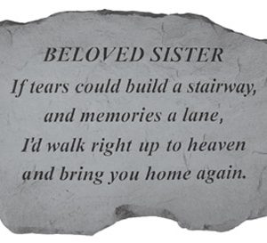 97520 BELOVED SISTER - If Tears Could Build...-0
