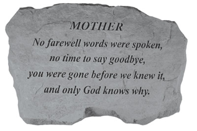 97820 MOTHER- No Farewell Words...-0